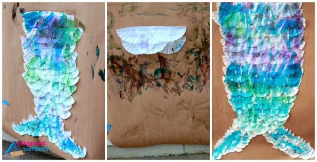 DIY Mermaid Tail for Kids - A Trio of Tails