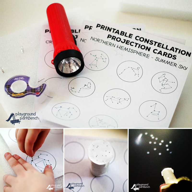 Constellation Project Cards Collage