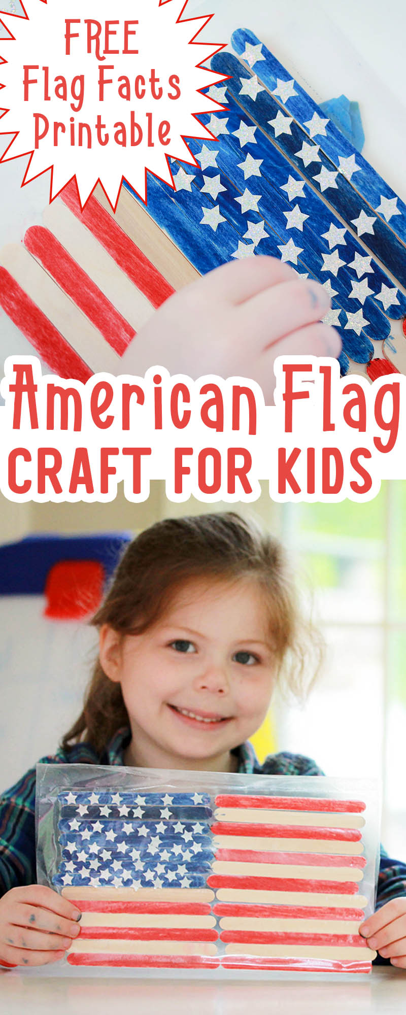 Us Flag Sensory Craft Preschool